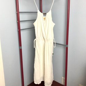 Ella Moss White Dress Sz S